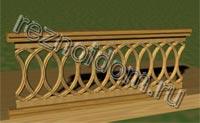 Перила для лестниц из дерева своими руками: фото