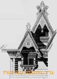 Фрагмент дачи Мамонтова.19 век.