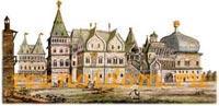 Царский дворец в Коломенском.